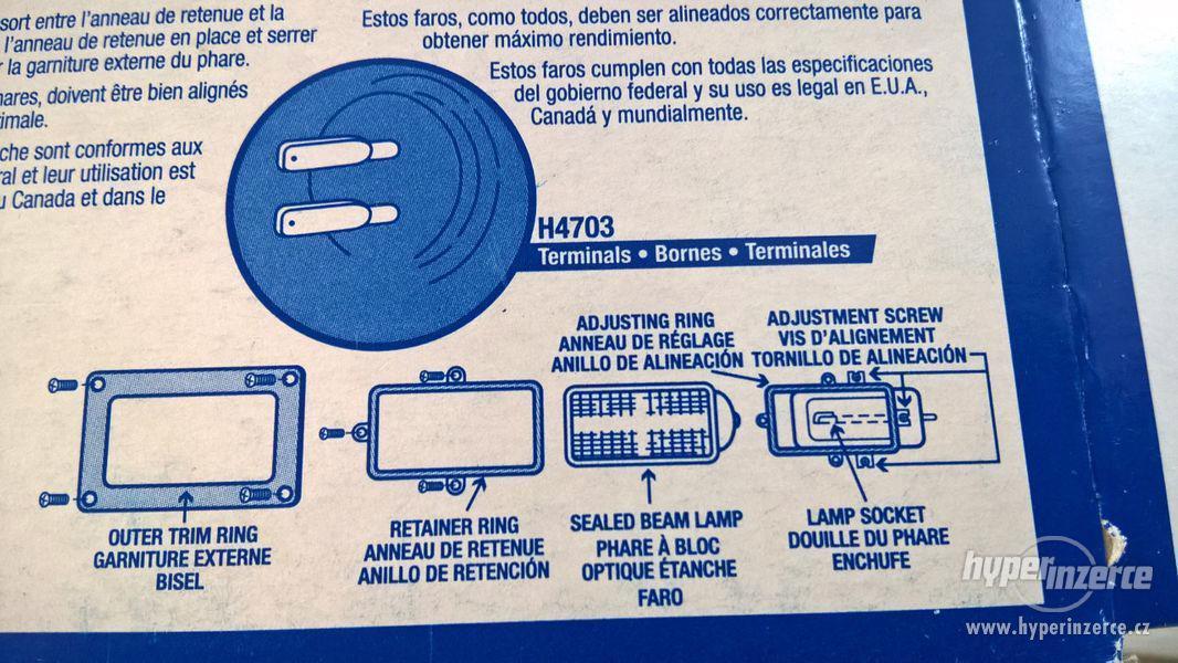 Světlomety na starší US auta (80. - 90. léta) - foto 7