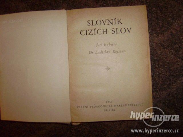 SLOVNÍK CIZÍCH SLOV, r. v. 1956 - foto 2