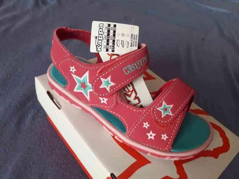Sandálky Kappa velikost 28 - foto 4