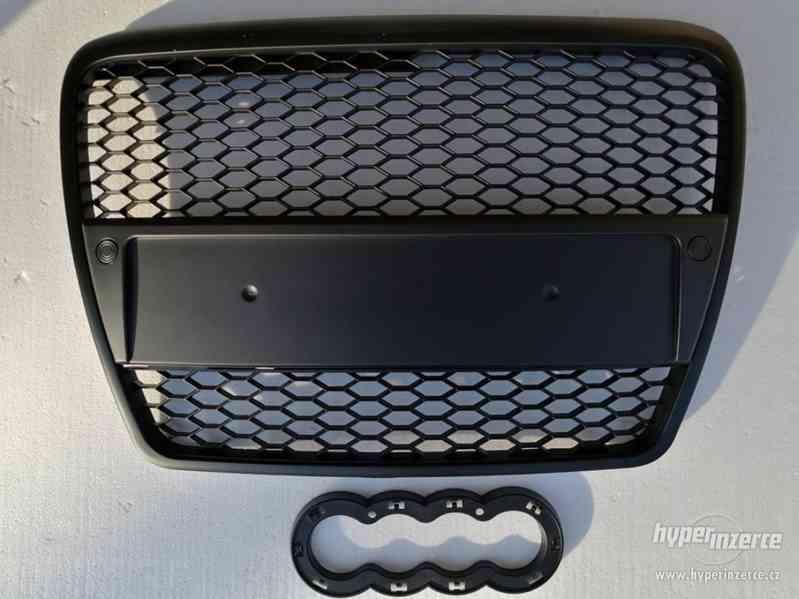 Přední maska AUDI A6 C6 RS-TYPE 04/04-08 MATT BLACK.