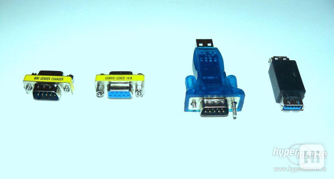 USB porty, redukce k PC (sada 4 ks) NOVÉ - foto 3