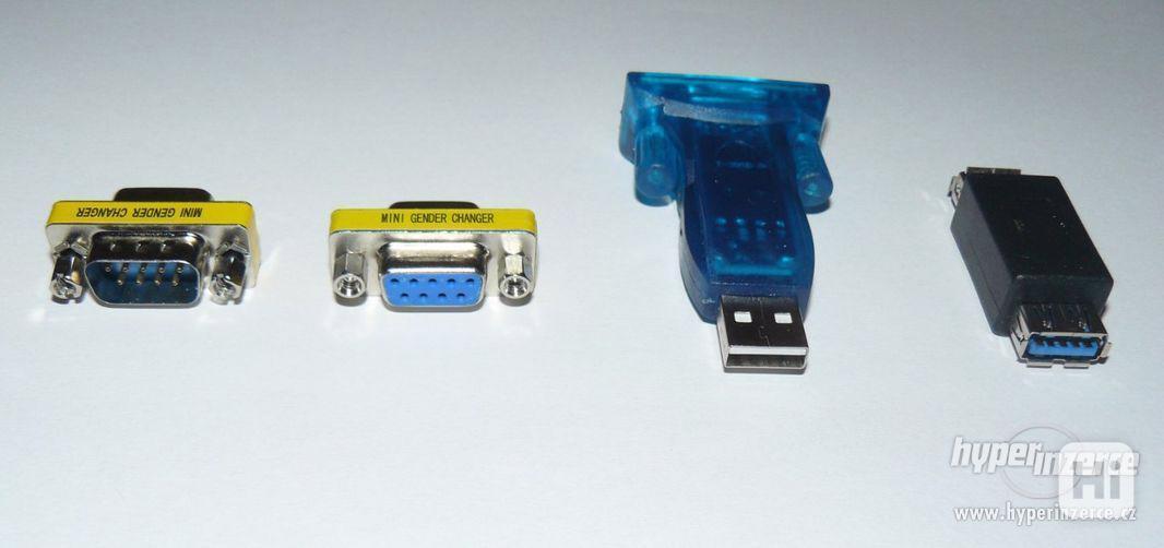 USB porty, redukce k PC (sada 4 ks) NOVÉ - foto 4