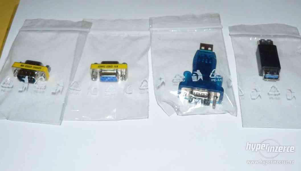 USB porty, redukce k PC (sada 4 ks) NOVÉ - foto 2