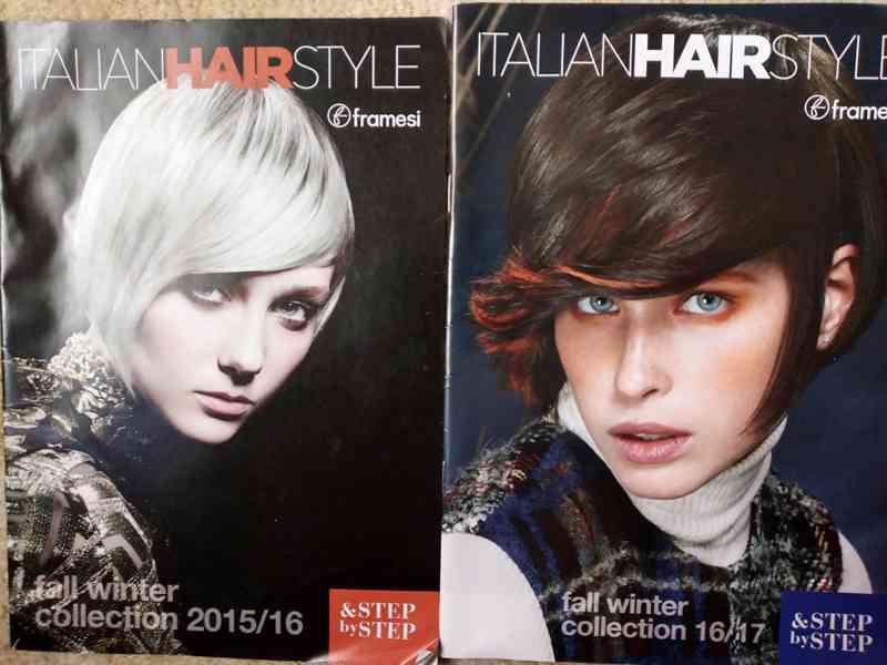 Prodám časopisy o vlasech a účesech hlavně pro ženy  - foto 4