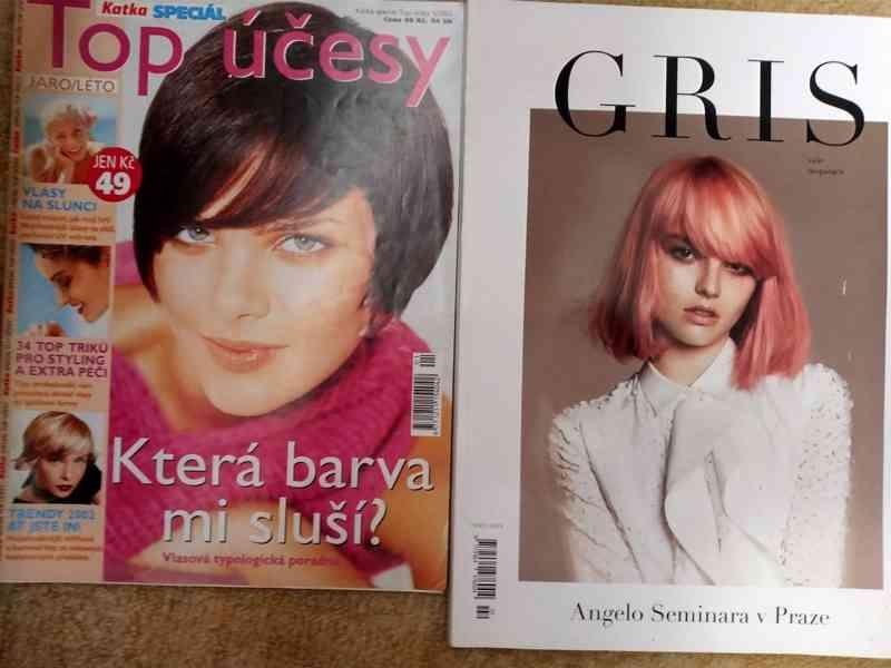 Prodám časopisy o vlasech a účesech hlavně pro ženy  - foto 5