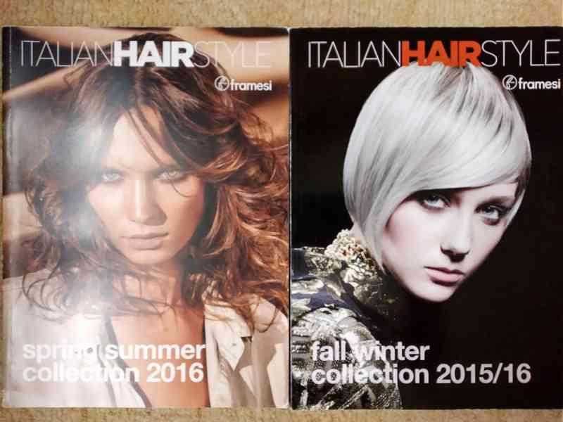 Prodám časopisy o vlasech a účesech hlavně pro ženy  - foto 3