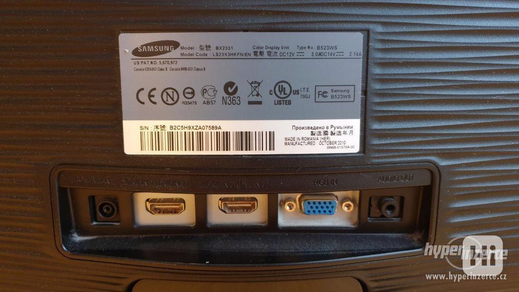 LED monitor SAMSUNG BX2331 - foto 5