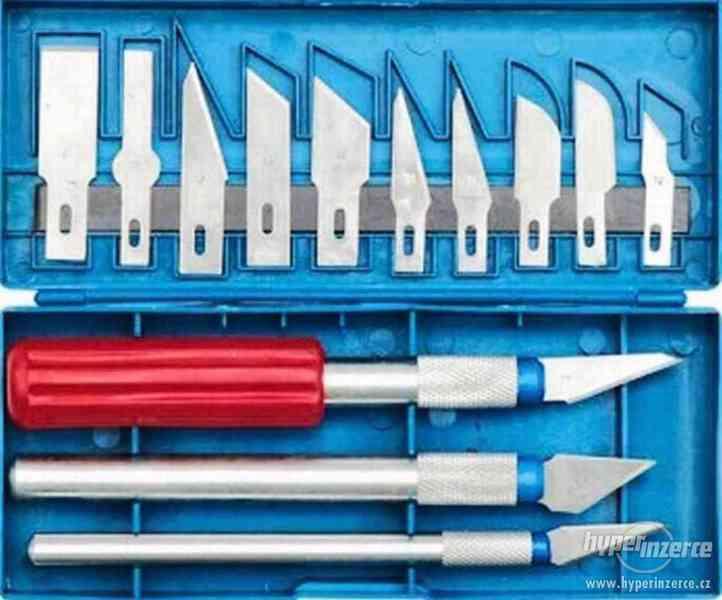 Odlamovací nože - modelářské nože , skalpelový nůž- výprodej