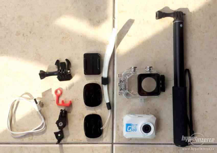 Kamera outdoorová s příslušenstvím