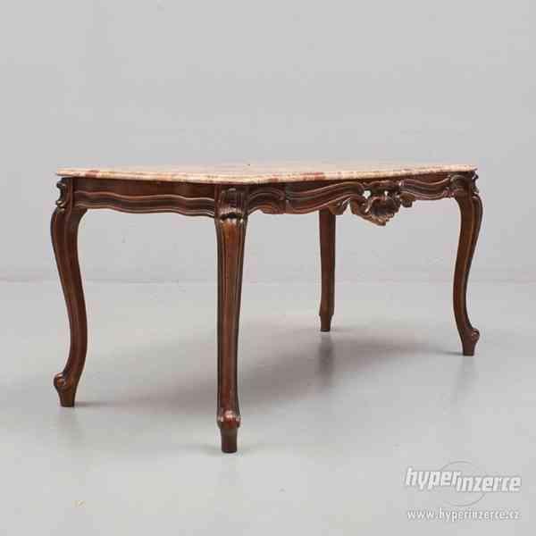 Konferencni stolek s mramorem - foto 2