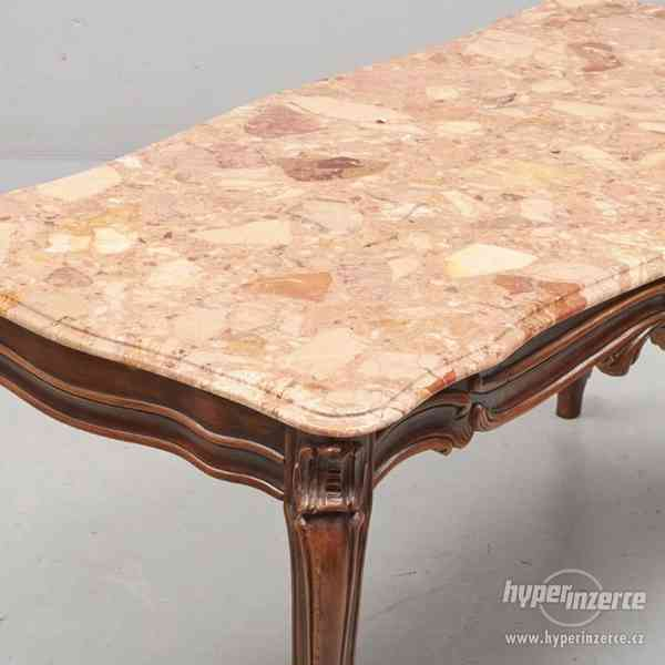 Konferencni stolek s mramorem - foto 3