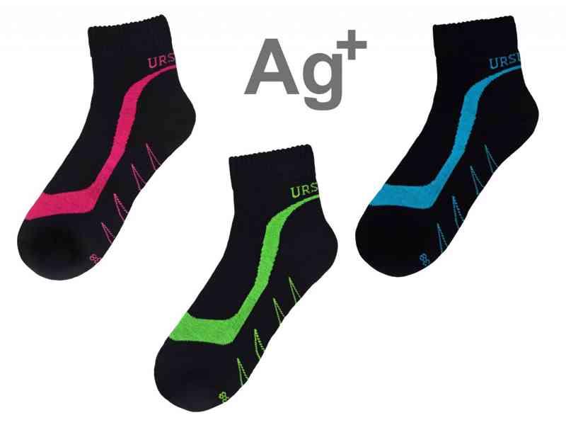 Ponožky se stříbrem URSUN Sport Dámské
