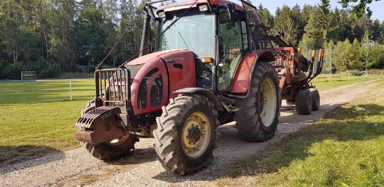 prodám traktor s vyvážečkou