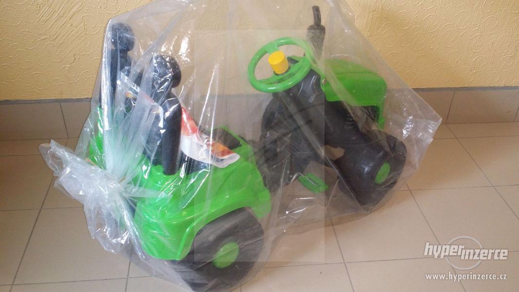 Nový Dětský Traktor + Vlečka ( Možnost Dopravy ZDARMA ) - foto 3