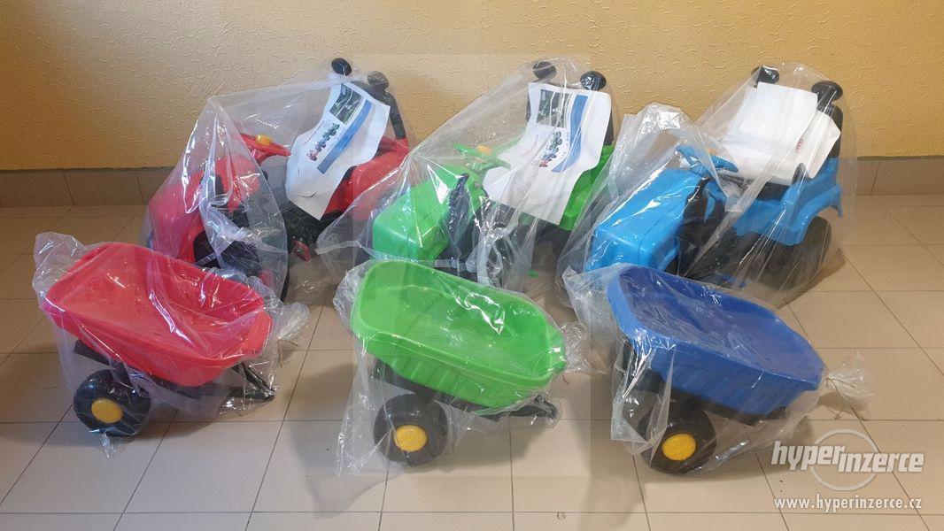 Nový Dětský Traktor + Vlečka ( Možnost Dopravy ZDARMA ) - foto 10