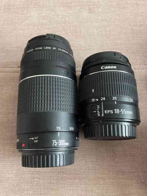 CANON EOS 20D + Dva objektivy - foto 2