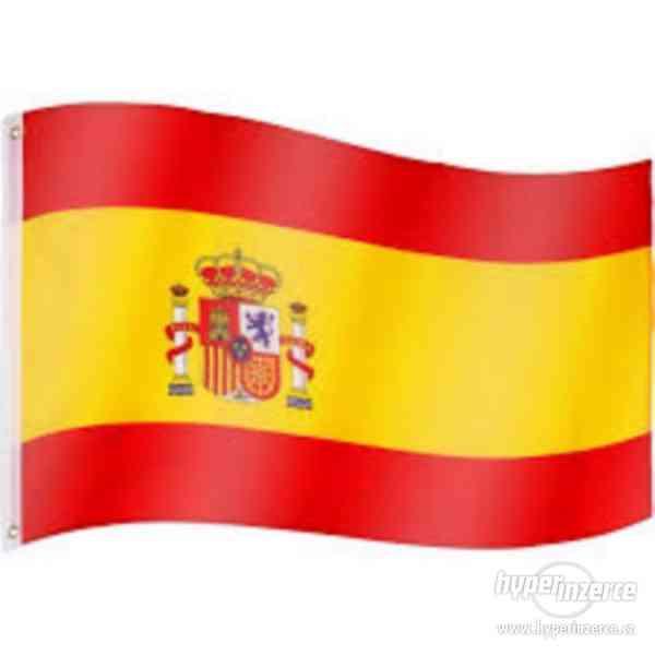 Doučování španělštiny s rodilým mluvčím