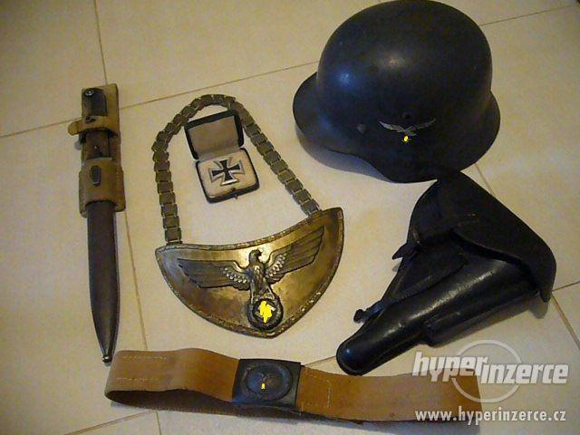 Nejvyšší ceny nabízím za staré militarie