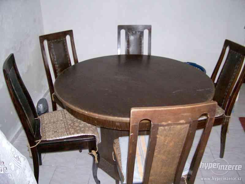 Prvorepublikový starožitný nábytek. - foto 4