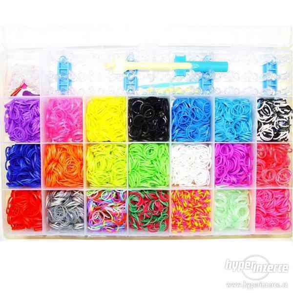 Velká maxi sada 4200 zářivých gumiček s dopravou zdarma