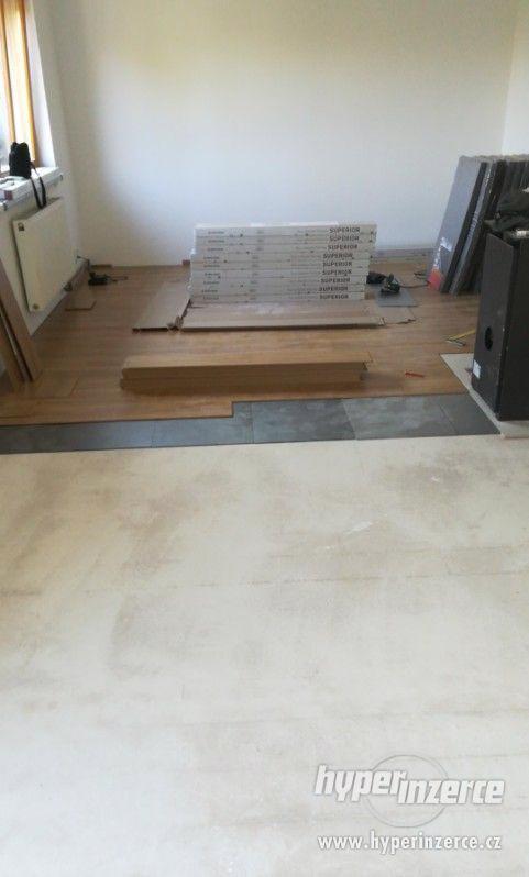 Podlahářské práce, Pokládka podlah - foto 2