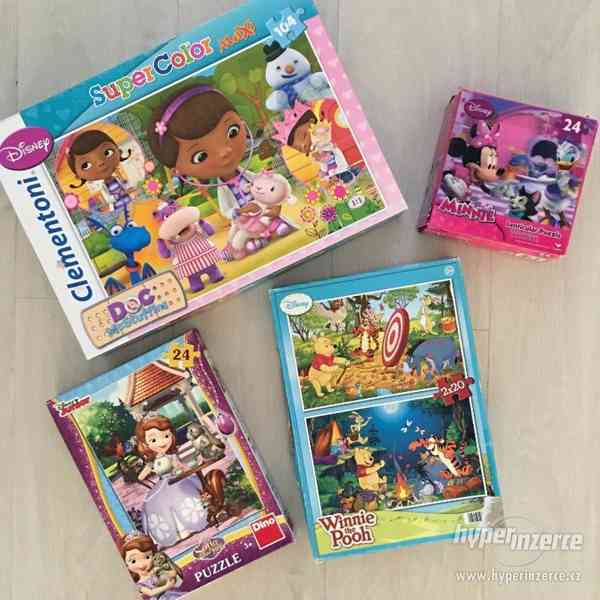 Dětské maxi puzzle 3+