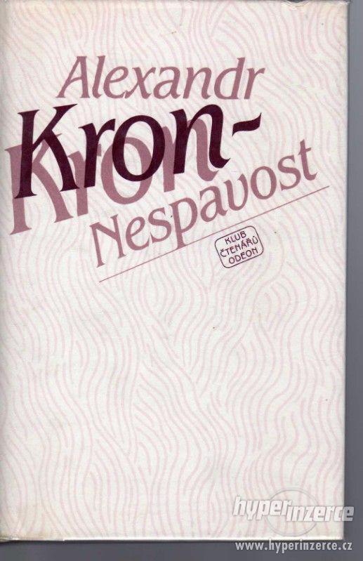 Nespavost  Alexander Kron - 1. vydání - 1983 - - foto 1