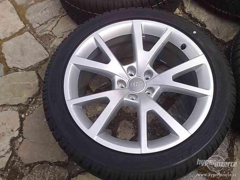 ORIGINÁL al.kola 19  5x112 na  AUDI + NOVÉ zimní  pneu