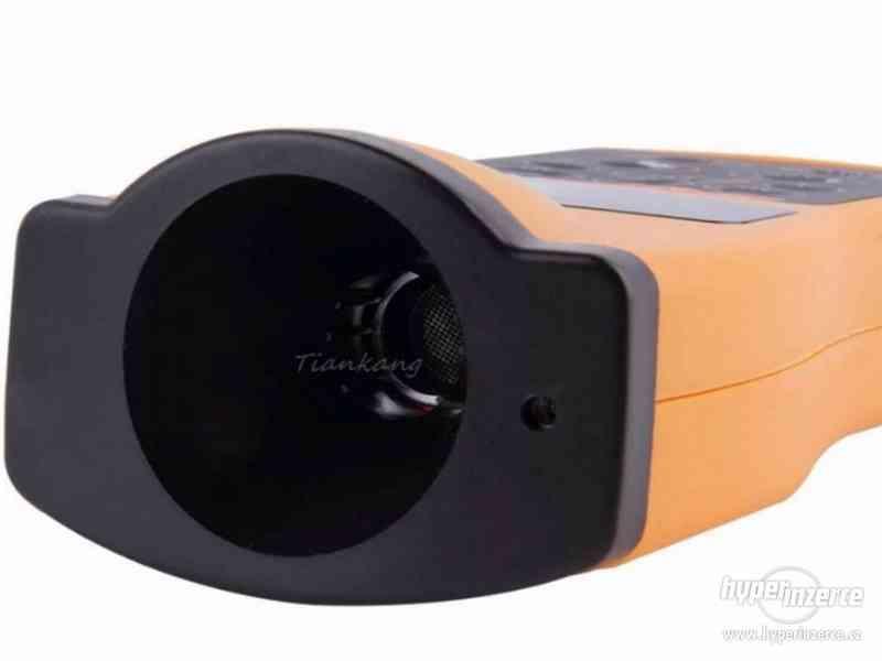 Ultrazvukový měřič vzdálenosti s laserovým zaměřovačem / dál - foto 3