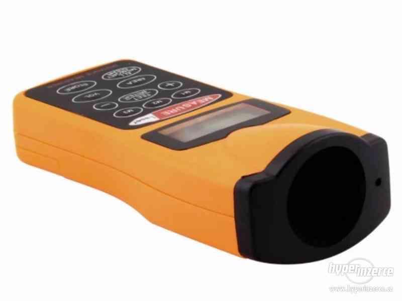 Ultrazvukový měřič vzdálenosti s laserovým zaměřovačem / dál - foto 5