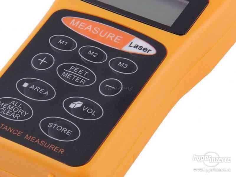 Ultrazvukový měřič vzdálenosti s laserovým zaměřovačem / dál - foto 6