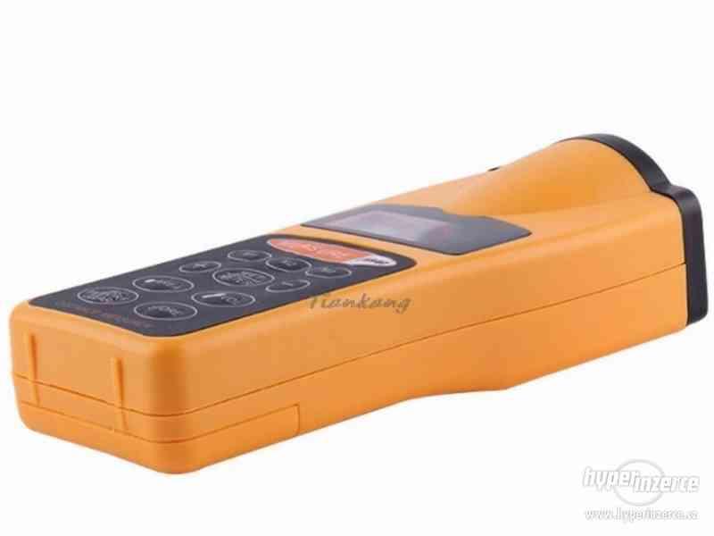 Ultrazvukový měřič vzdálenosti s laserovým zaměřovačem / dál - foto 8