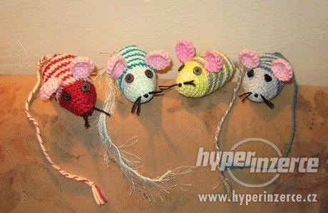 Ručně dělané myšky 10-11cm - foto 1