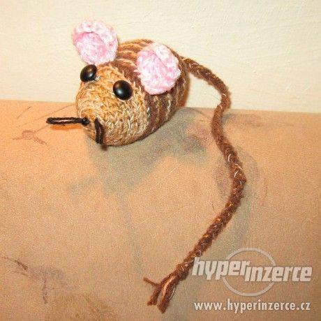 Ručně dělané myšky 10-11cm - foto 6