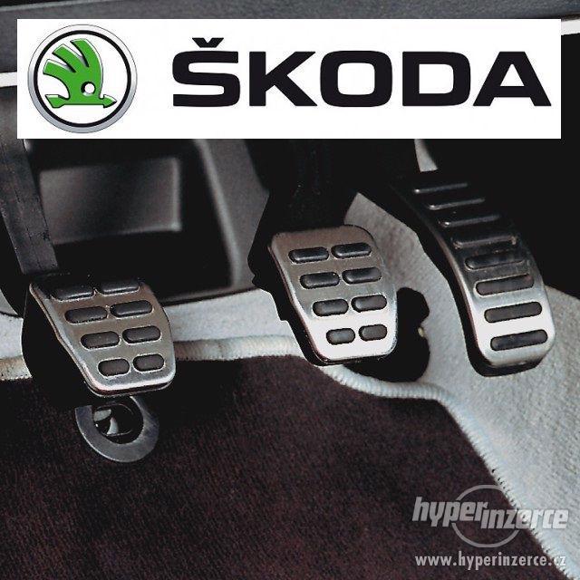 Originální Škoda RS nášlapy pro pedály Nové Octavia1 Fabia - foto 1