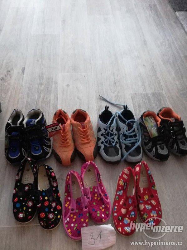 Dětské boty-nové
