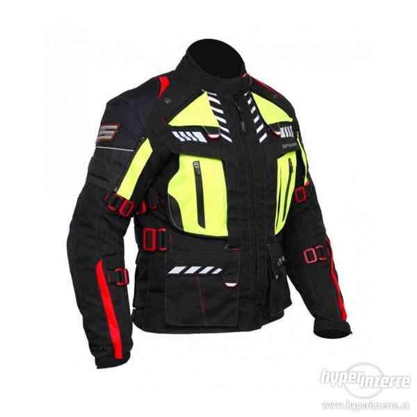 Dámská textilní moto bunda Spark Lady Expedition, černá L