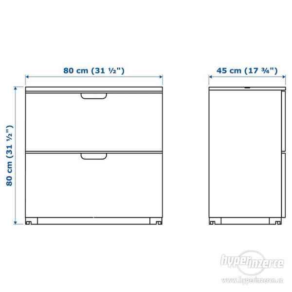 Koupím IKEA GALANT Zásuvkový díl s místem na pořadač, ŠÉDÁ - foto 2