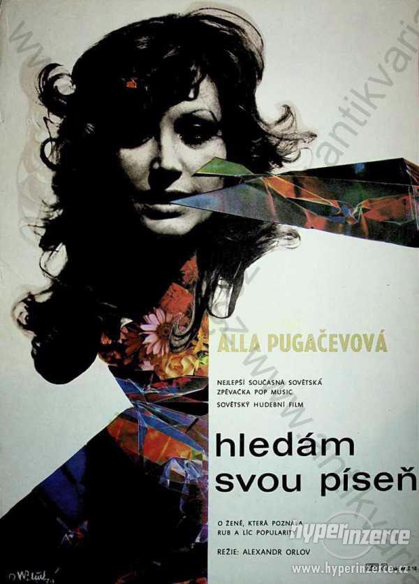 Alla Pugačevová - Hledám svou píseň film plakát