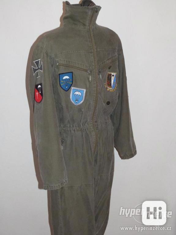 Parašutistická kombinéza Bundeswehr - koupím