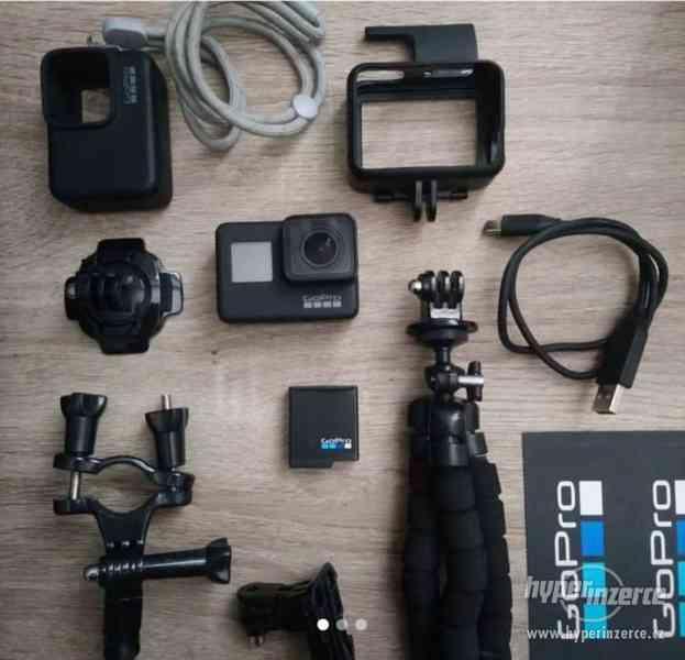 Prodám GoPro7 Black s příslušenstvím