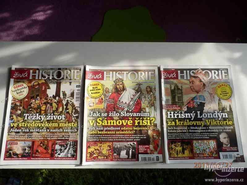 Časopisy ŽIVÁ HISTORIE-3ks