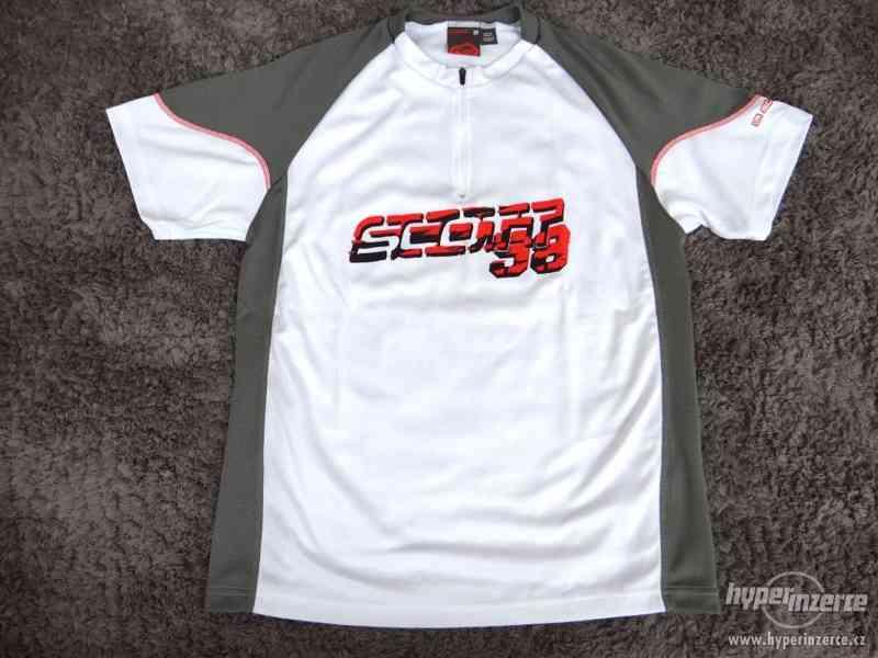 Cyklistický dres na kolo SCOTT SHIRT ENTRY TOP white