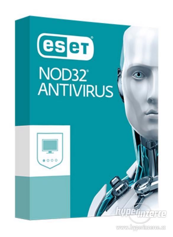 Eset Nod32 Antivirus 12 měsíců, záruka, faktura