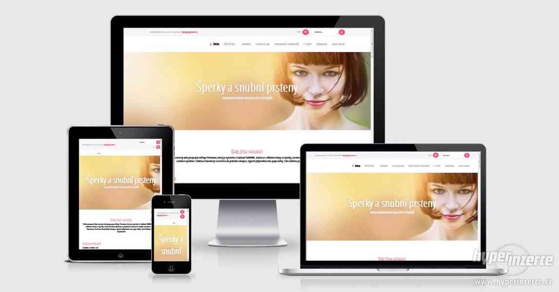 Moderní weby a eshopy s jednoduchým ovládáním - foto 2