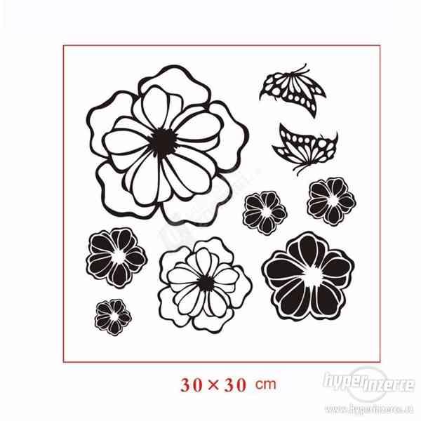-45% Sada květinových samolepek - foto 3