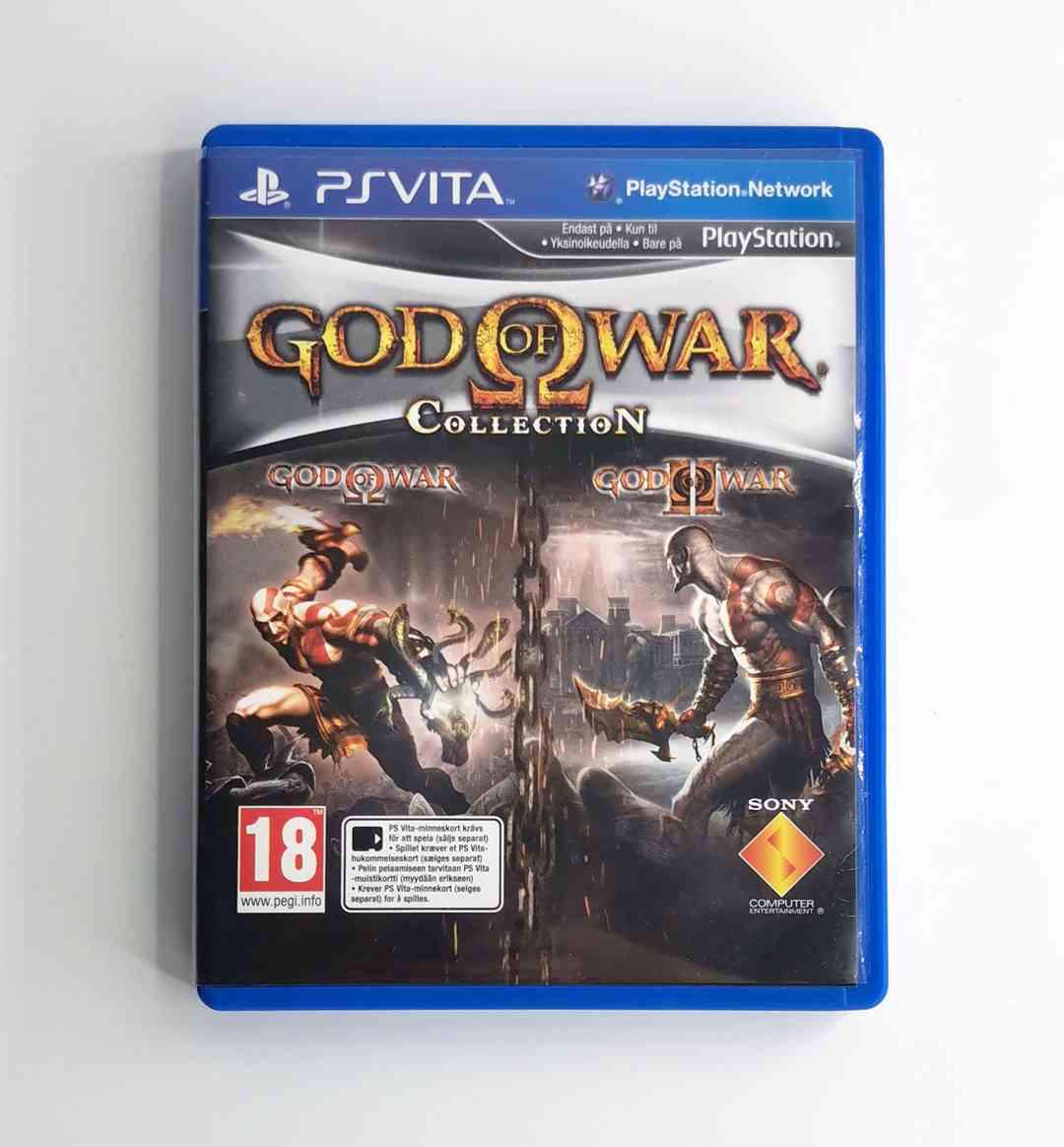 PS Vita - God of War Collection - foto 1