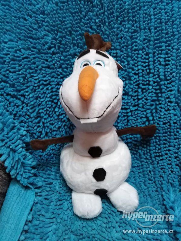 plyšový Olaf Frozen II svítící nos - foto 1