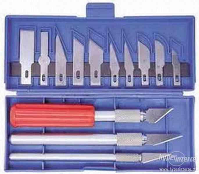 Odlamovací nože - modelářské nože, skalpelový nůž - výprodej - foto 1