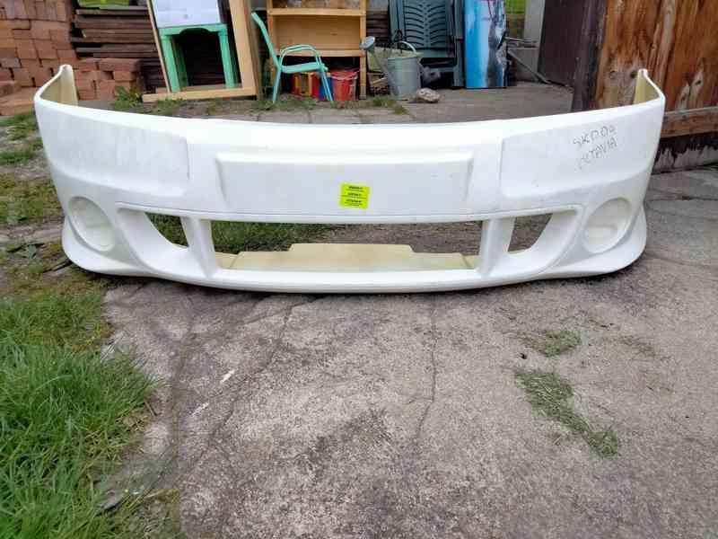 Nárazník spoiler Škoda Octavia